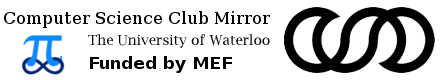 Computer Science Club Mirror - The University of Waterloo - Funded by MEF